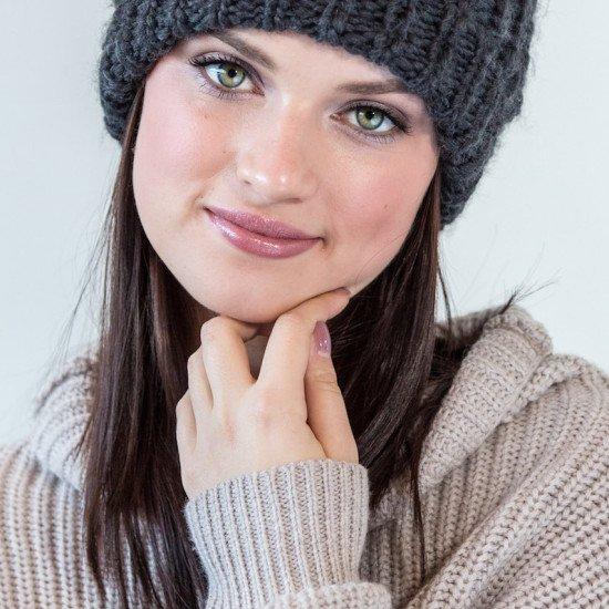 Sweater Weather Eco Makeup Look