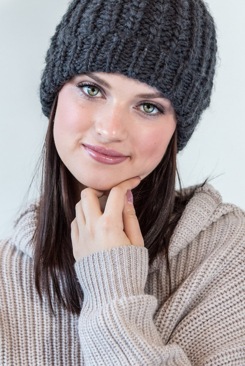 Organic Makeup look inspired by winter beauty