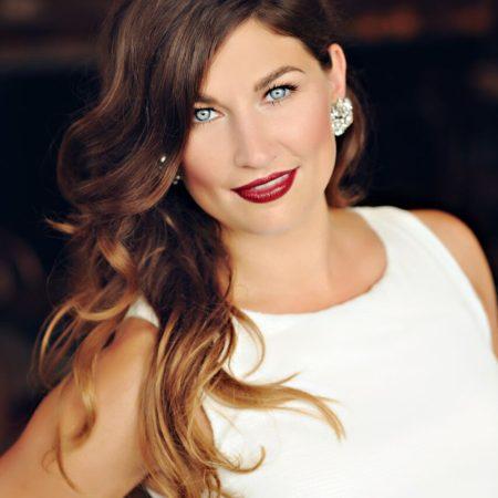 Beautiful holiday makeup created by Ottawa Makeup artist Klava Z