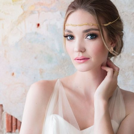 Beautiful bridal makeup by Klava Z Ottawa wedding Makeup artist