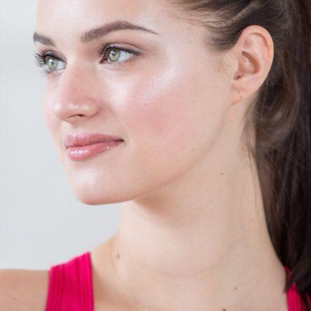 Glowing natural makeup created by Ottawa Makeup artist Klava Z