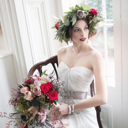 Beautiful bridal makeup by Klava Z Ottawa wedding Makeup artist