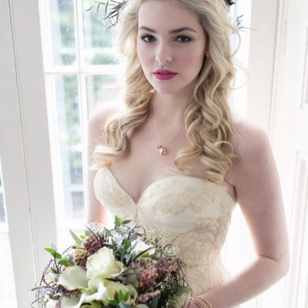 Beautiful bridal makeup by Klava Z wedding Makeup artist Ottawa