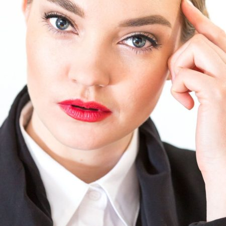 headshot professional makeup created by Ottawa Makeup artist Klava Z
