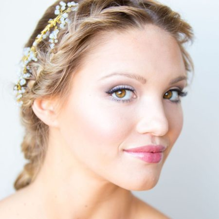 Beautiful natural bridal makeup by Klava Z wedding Makeup artist Ottawa