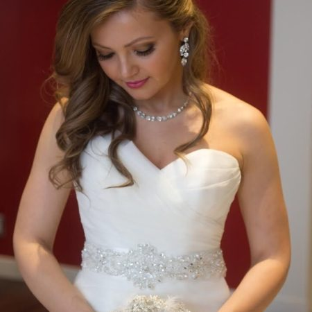 Beautiful glamorous bridal makeup by Klava Z Ottawa wedding Makeup artist
