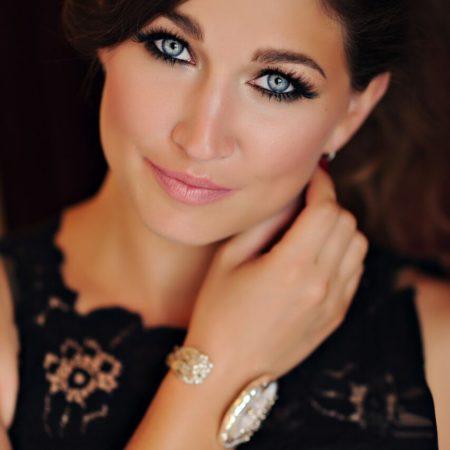 Beautiful glamour makeup created by Ottawa's best Makeup artist Klava Z