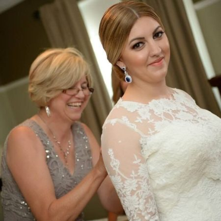 Beautiful elegant bridal makeup by Klava Z Ottawa Makeup artist