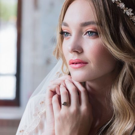 Beautiful bohemian bridal makeup by Klava Z Ottawa Makeup artist