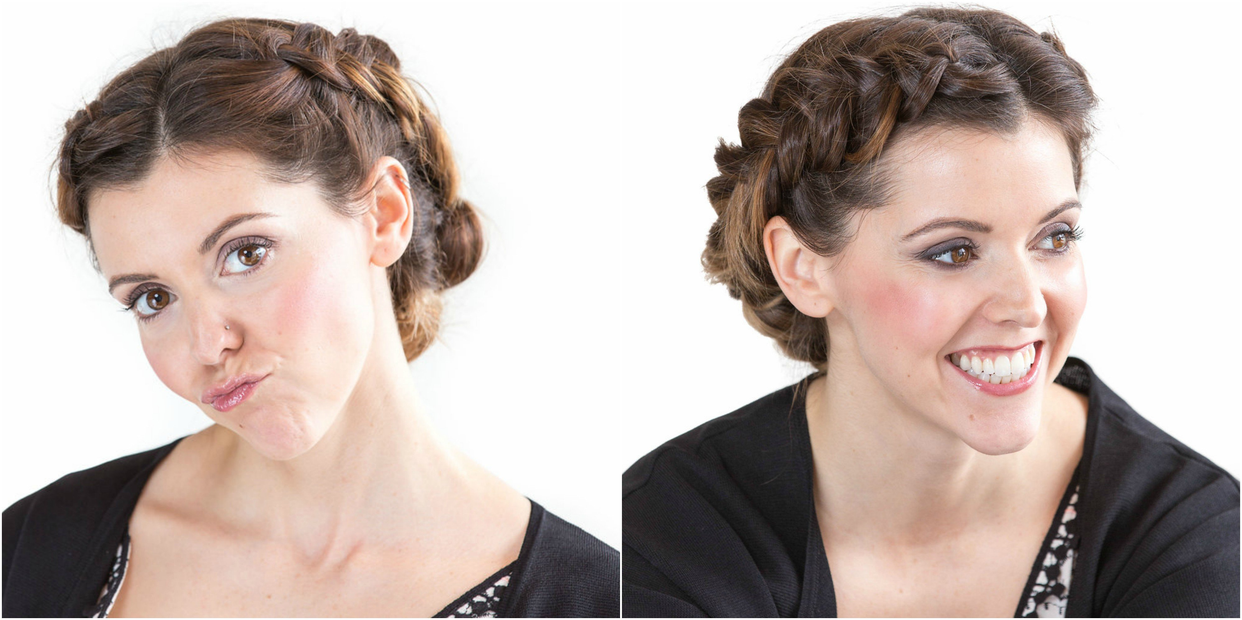 Ottawa makeup artist Klava Z created an eco casual neutral makeup look using only natural organic products