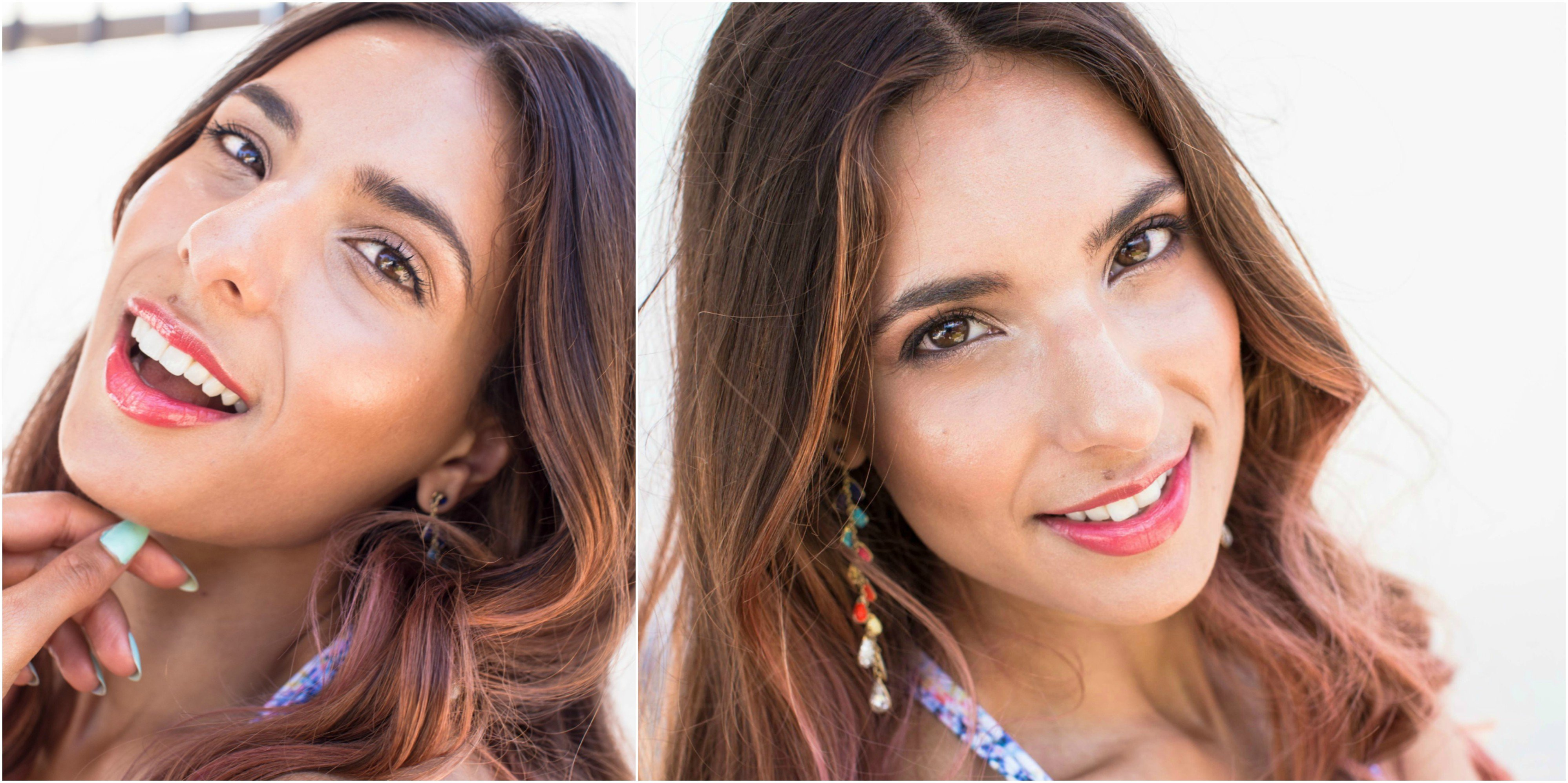 Ottawa Makeup Artist Klava Z creates a Pool Party Makeup Look and shows how to glam it up using only organic makeup