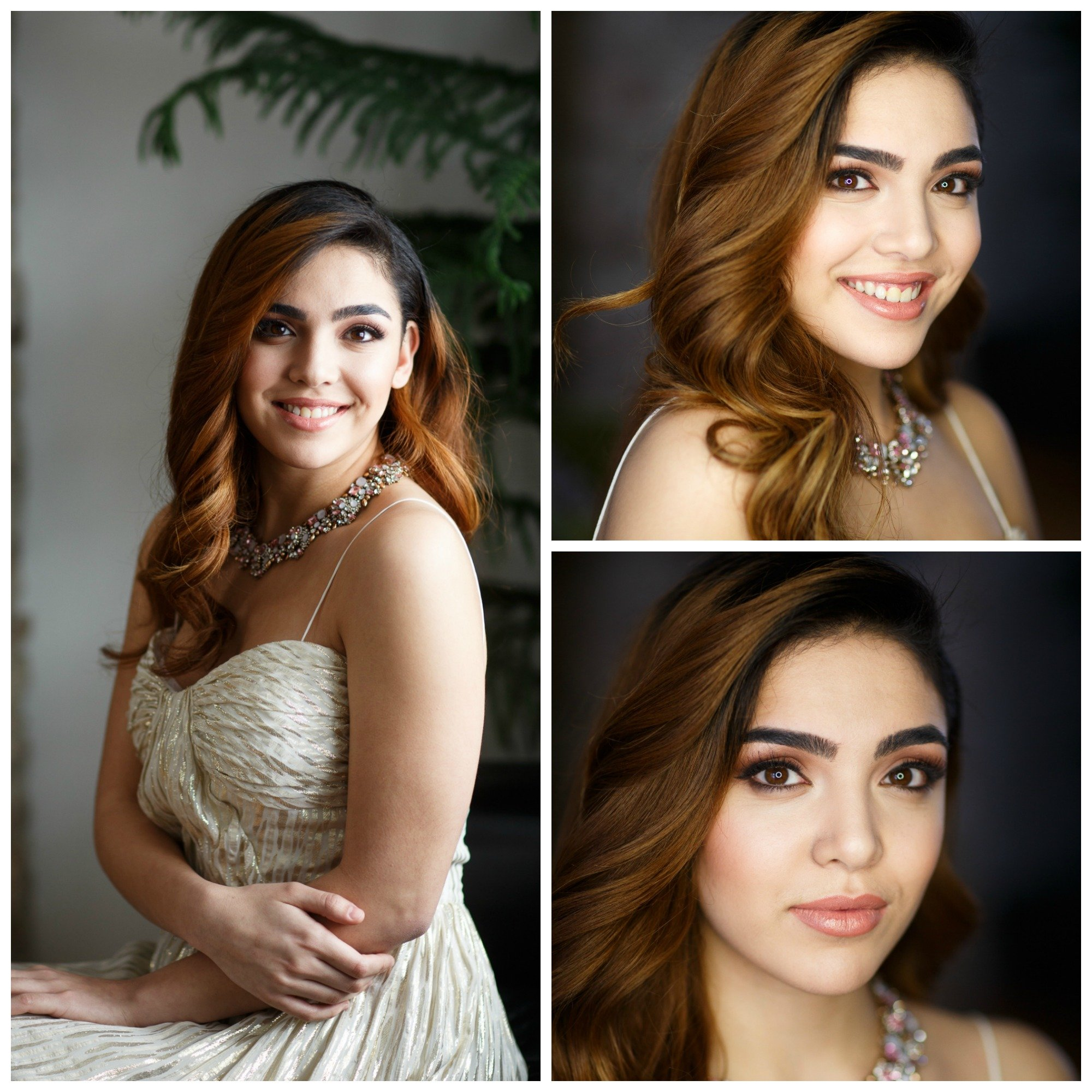 beautiful prom makeup and hair by Ottawa best makeup artist Klava Z and talented hairstylist Topknot Hairstyling