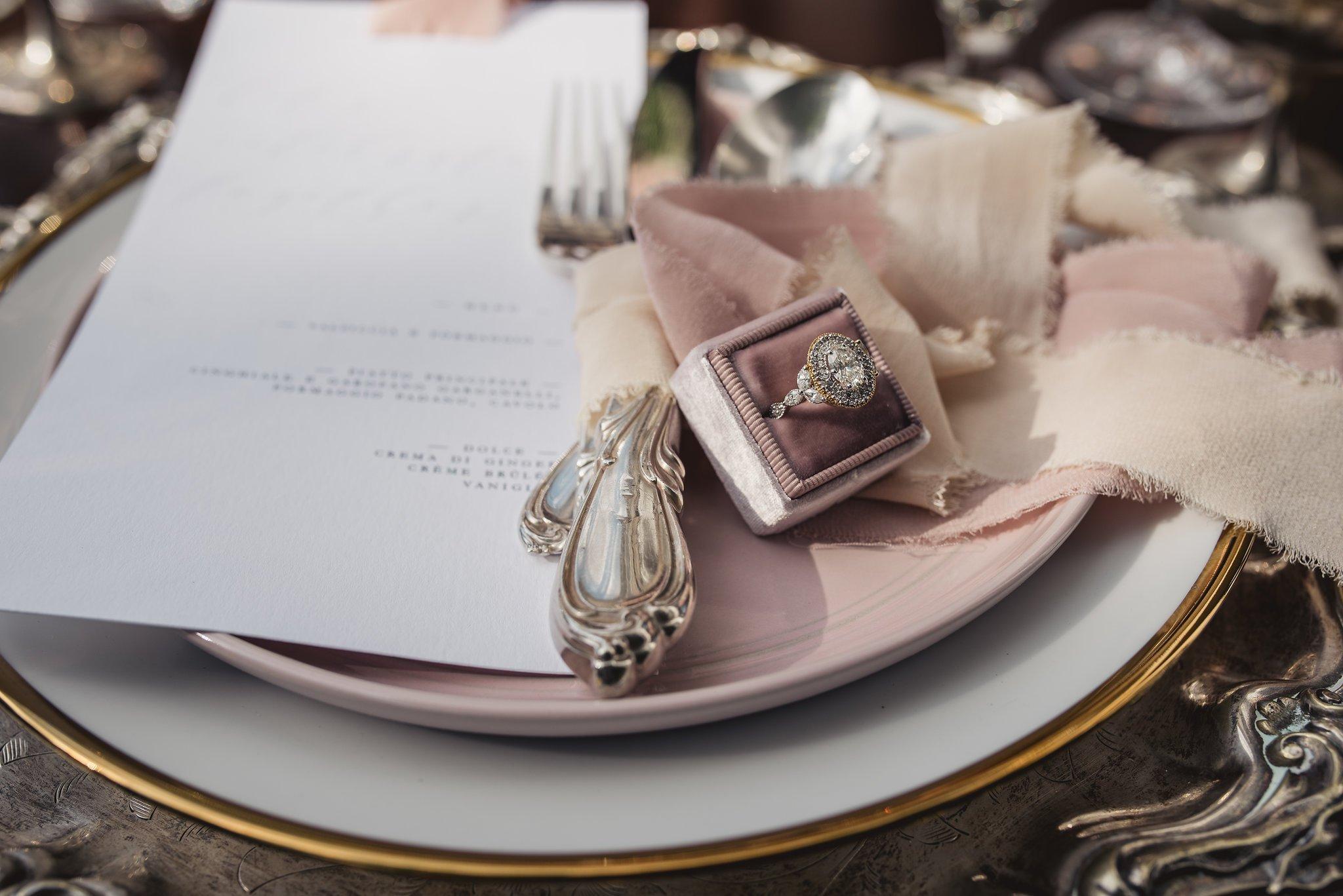 vintage bridal ring