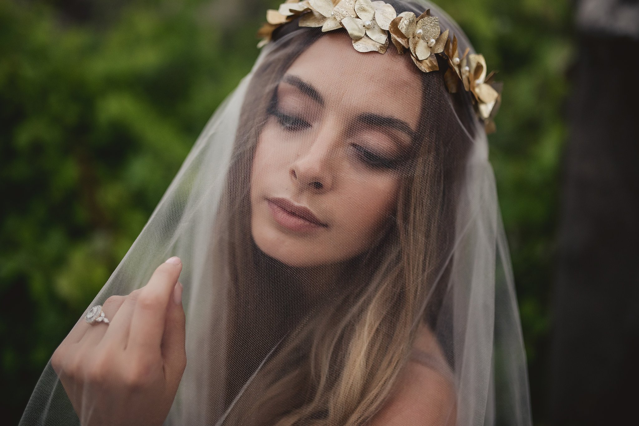 beautiful bridal makeup by Ottawa's wedding makeup artist Klava Z